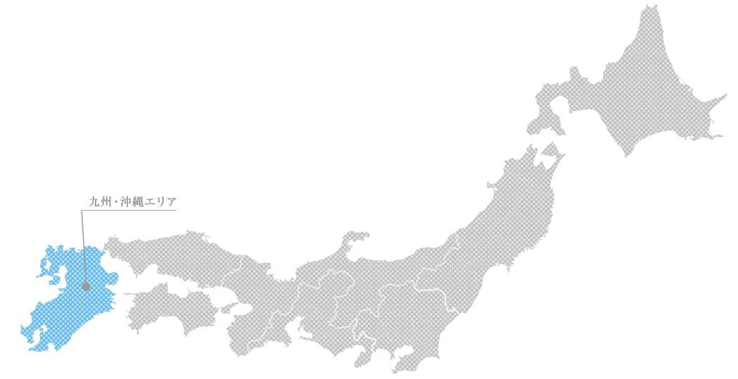 九州・沖縄の貴金属高価買取マップ