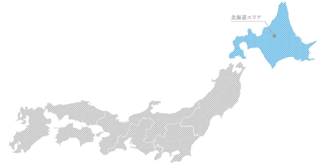 北海道の貴金属高価買取マップ