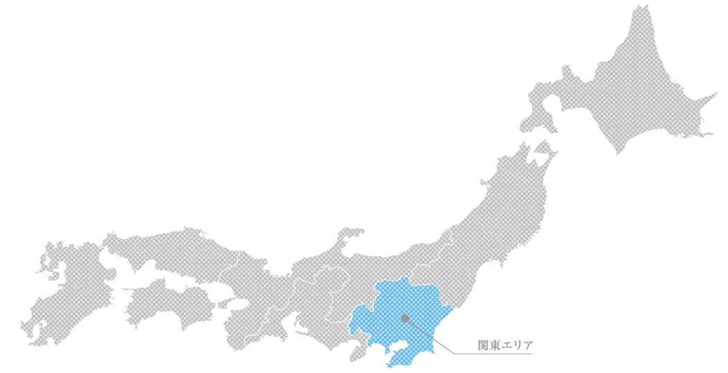 関東の貴金属高価買取マップ
